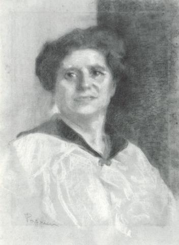 ritratto di Signora (Ines paggi Sadun)