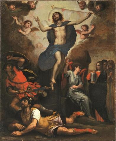 Resurrezione di Cristo 105,5x85,5 Domenico Cresti