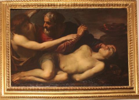 Sacrificio di Isacco  135x98