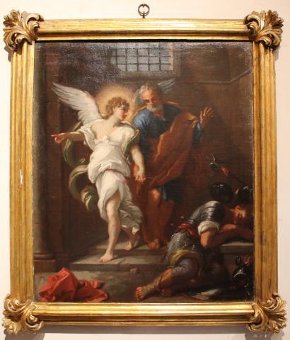 Liberazione di san Pietro 90x80