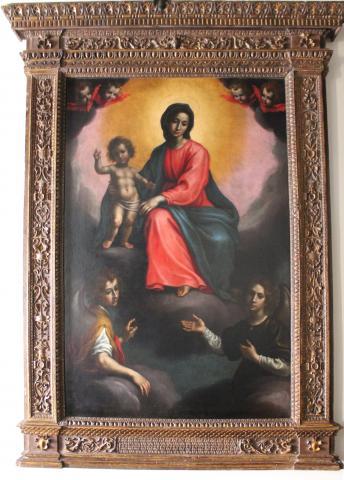 Madonna con Bambino e due angeli adoranti