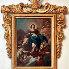 Corrado Giaquinto (Molfetta 1703 – Napoli 1765) Immacolata Concezione, 1740 ca. Olio su tela, cm.120x80